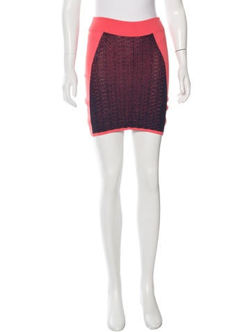 Rag & Bone Mini Bodycon Skirt None