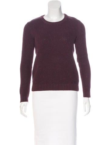 Rag & Bone Speckled Rib Knit Sweater None