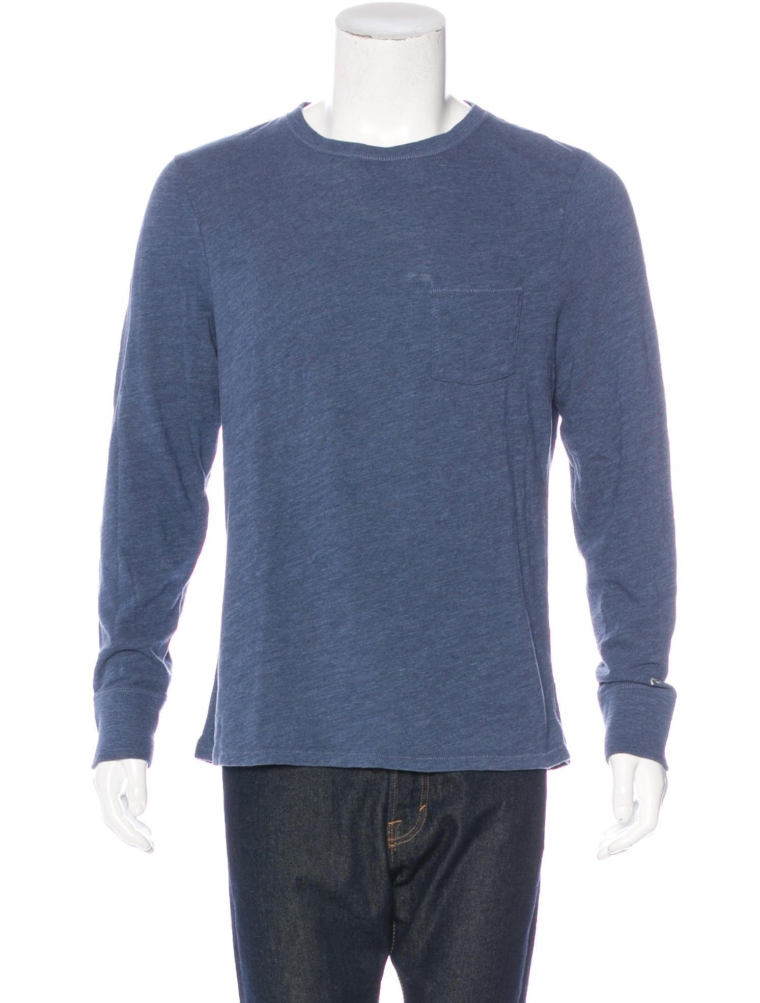 Rag bone long sleeve t shirt clothing wragb67080 for Rag and bone t shirts