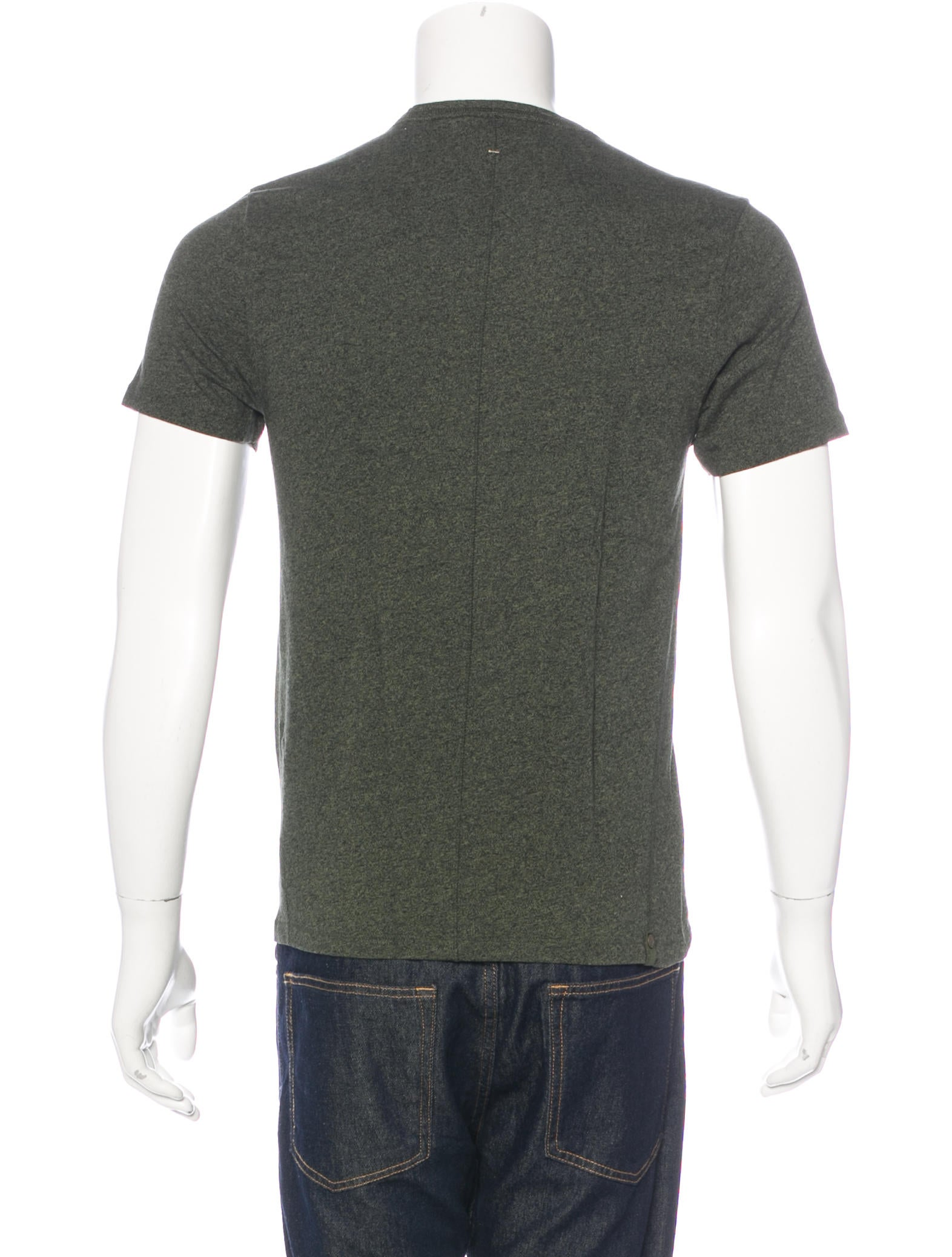 Rag Bone Crew Neck T Shirt Clothing Wragb67081 The