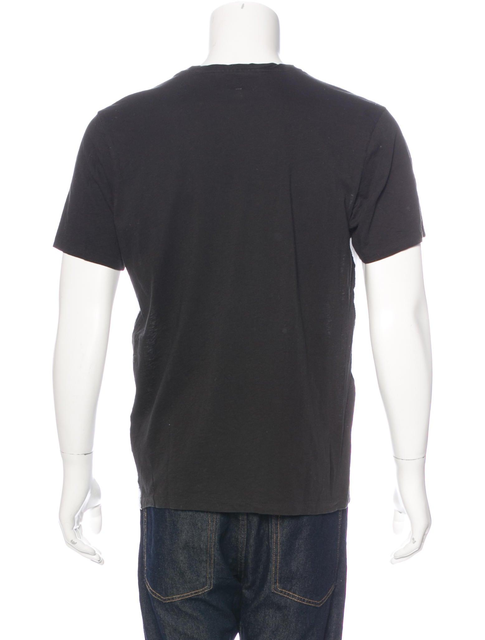 Rag bone colorblock woven t shirt clothing for Rag and bone mens shirts sale