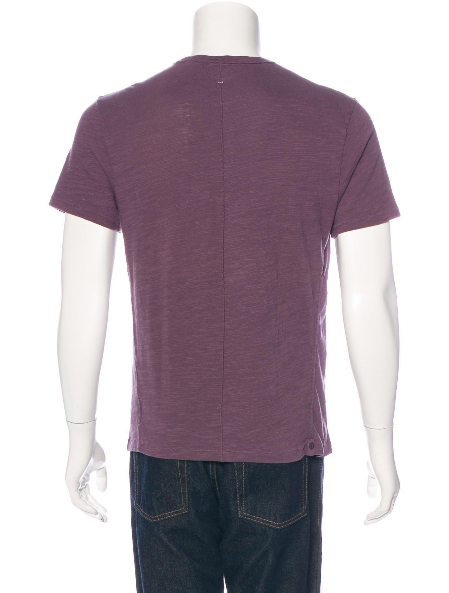 Rag Bone Crew Neck T Shirt Clothing Wragb67119 The