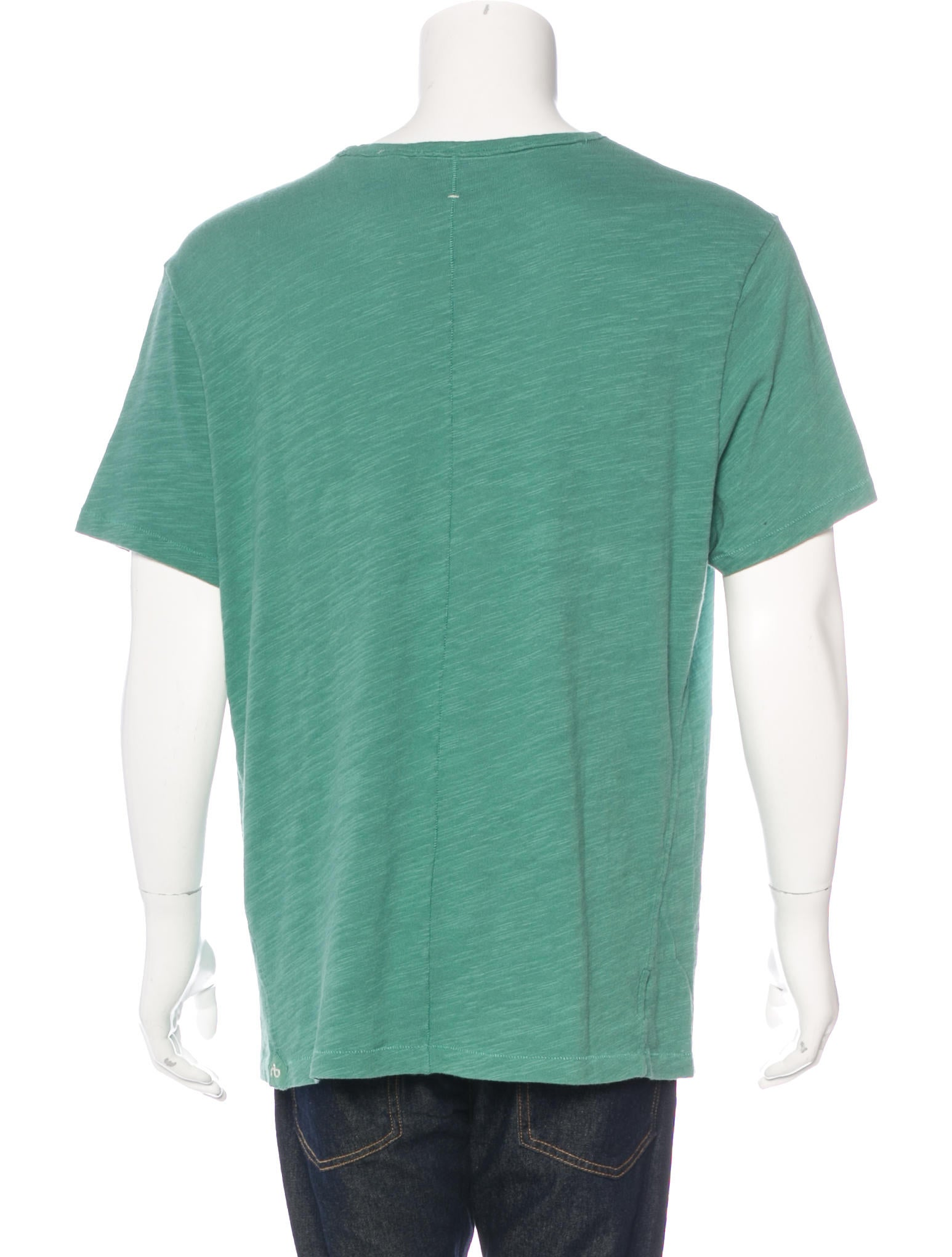 Rag bone scoop neck t shirt clothing wragb67291 for Scoop neck t shirt