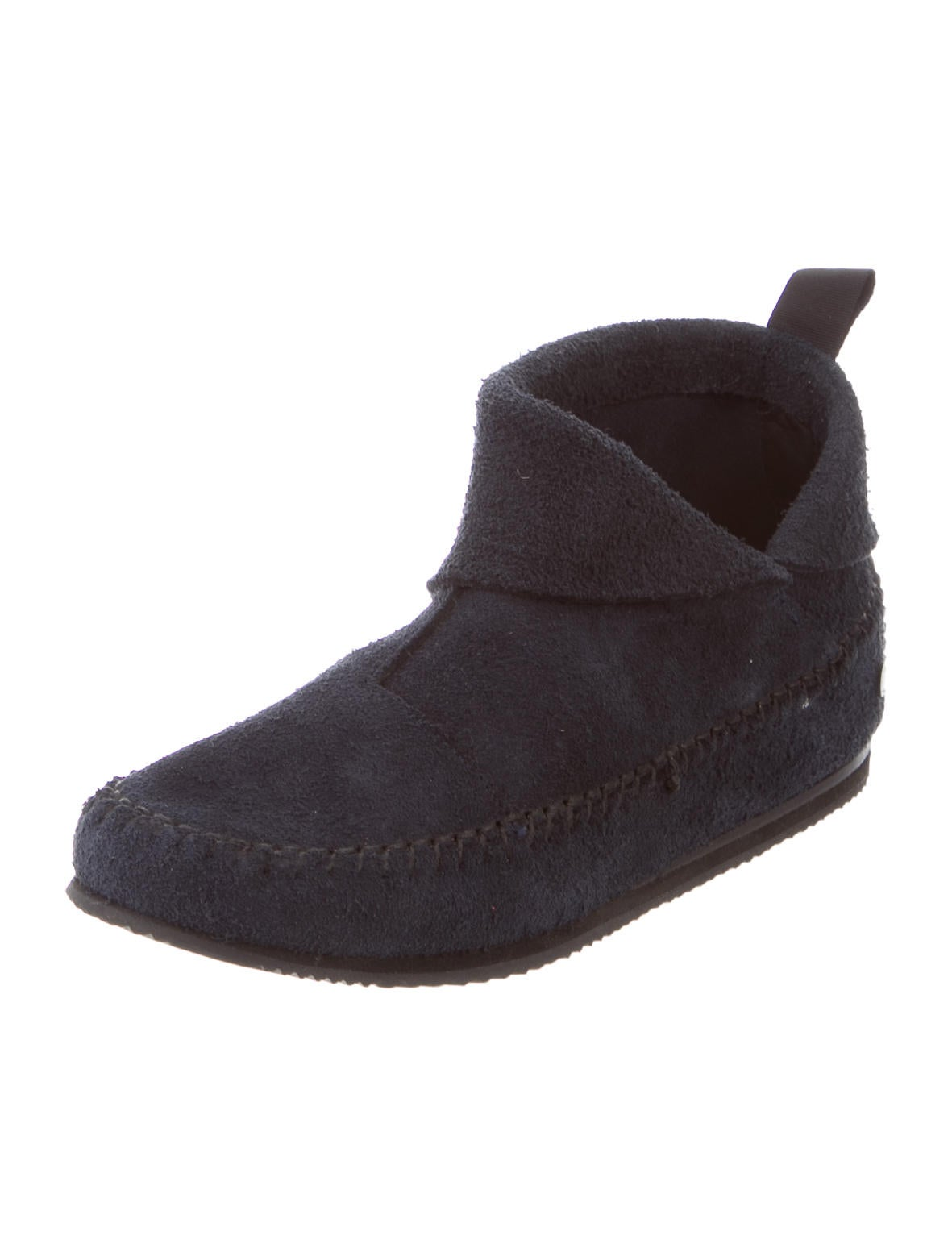 rag bone suede moccasin ankle boots shoes wragb67650