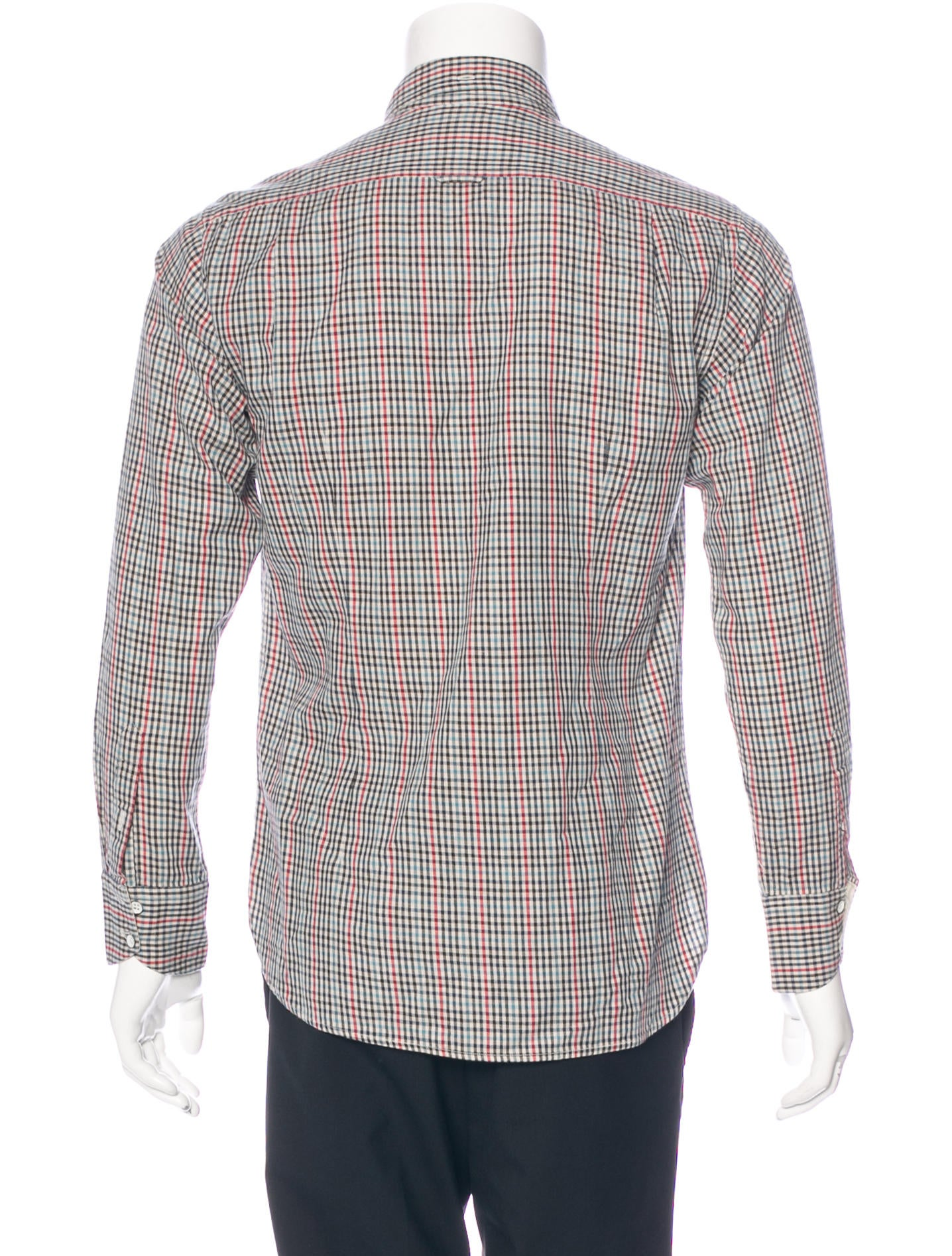 Rag Bone Gingham Button Up Shirt Clothing Wragb68060