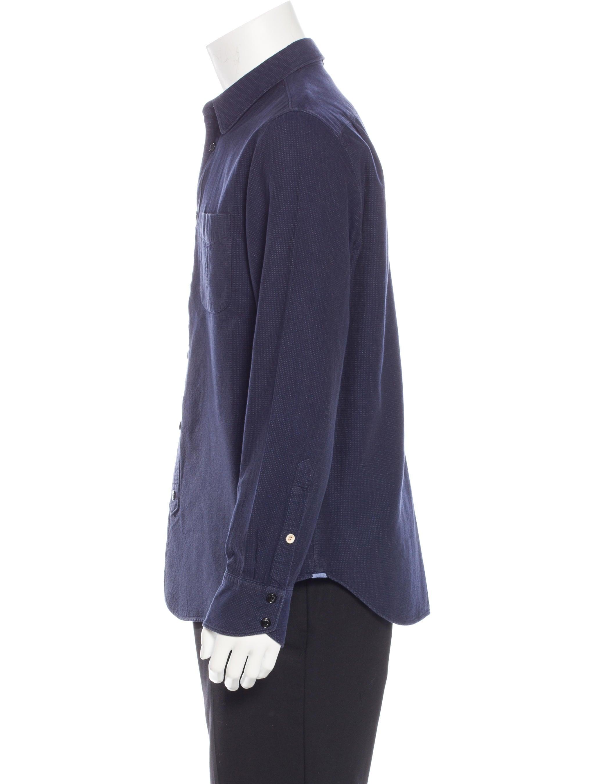 Rag Amp Bone Slim Fit Woven Shirt Clothing Wragb68104