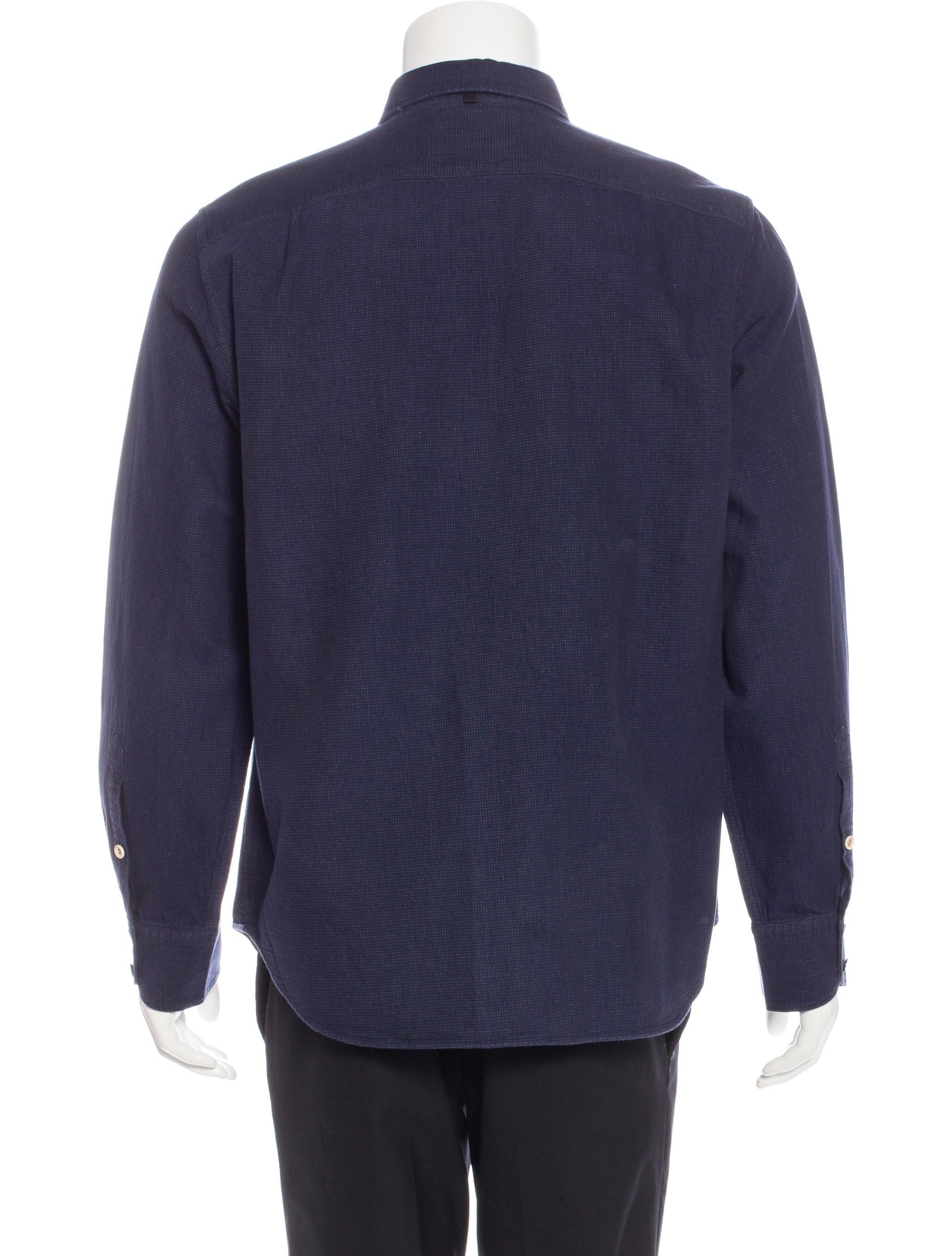 Rag Bone Slim Fit Woven Shirt Clothing Wragb68104