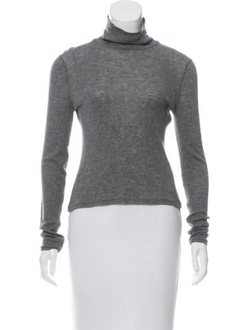 Rag & Bone Long Sleeve Turtleneck Top None