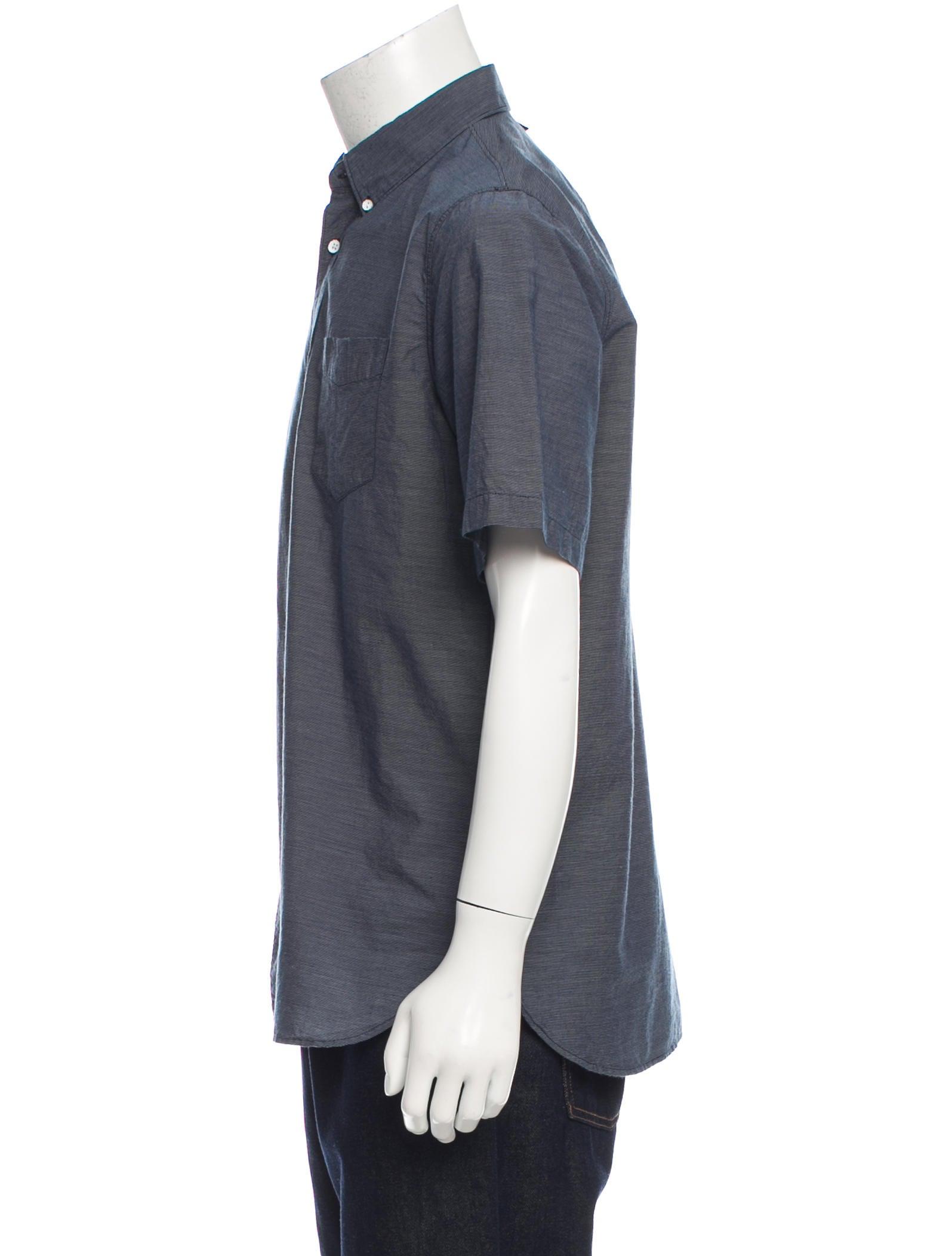 Rag Bone Slim Fit Button Up Shirt Clothing