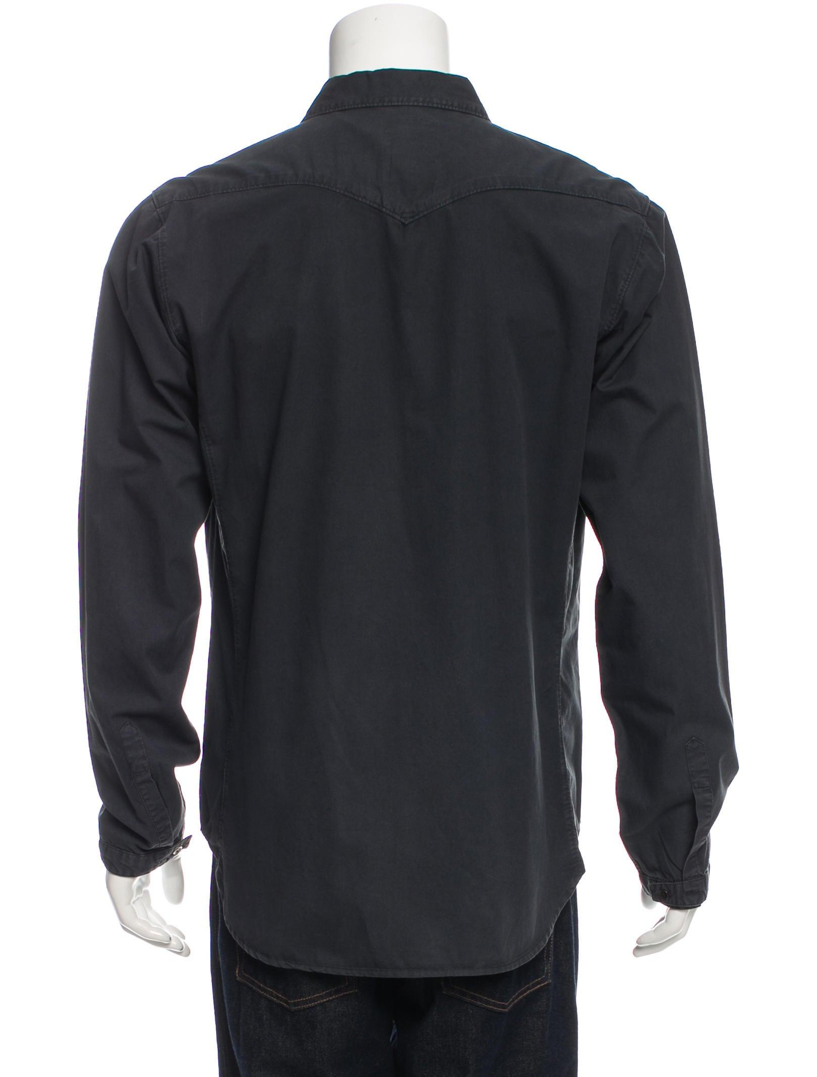 Rag Bone Woven Button Up Shirt Clothing Wragb68651
