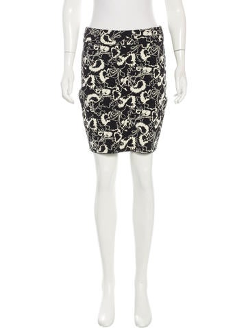 Rag & Bone Patterned Knit Skirt w/ Tags None