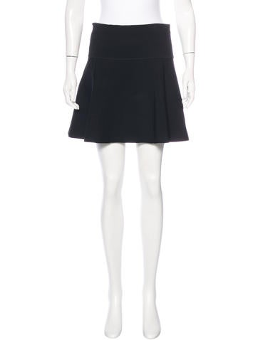 Rag & Bone A-Line Mini Skirt None