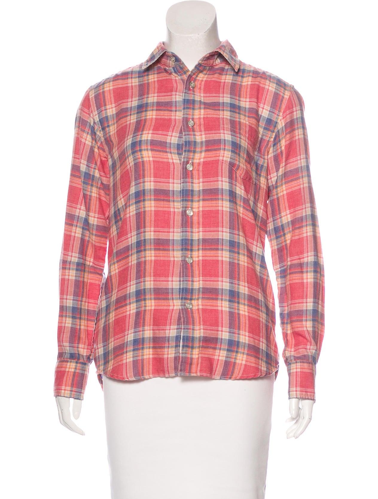 Rag bone plaid button up shirt clothing wragb69381 for Rag bone shirt