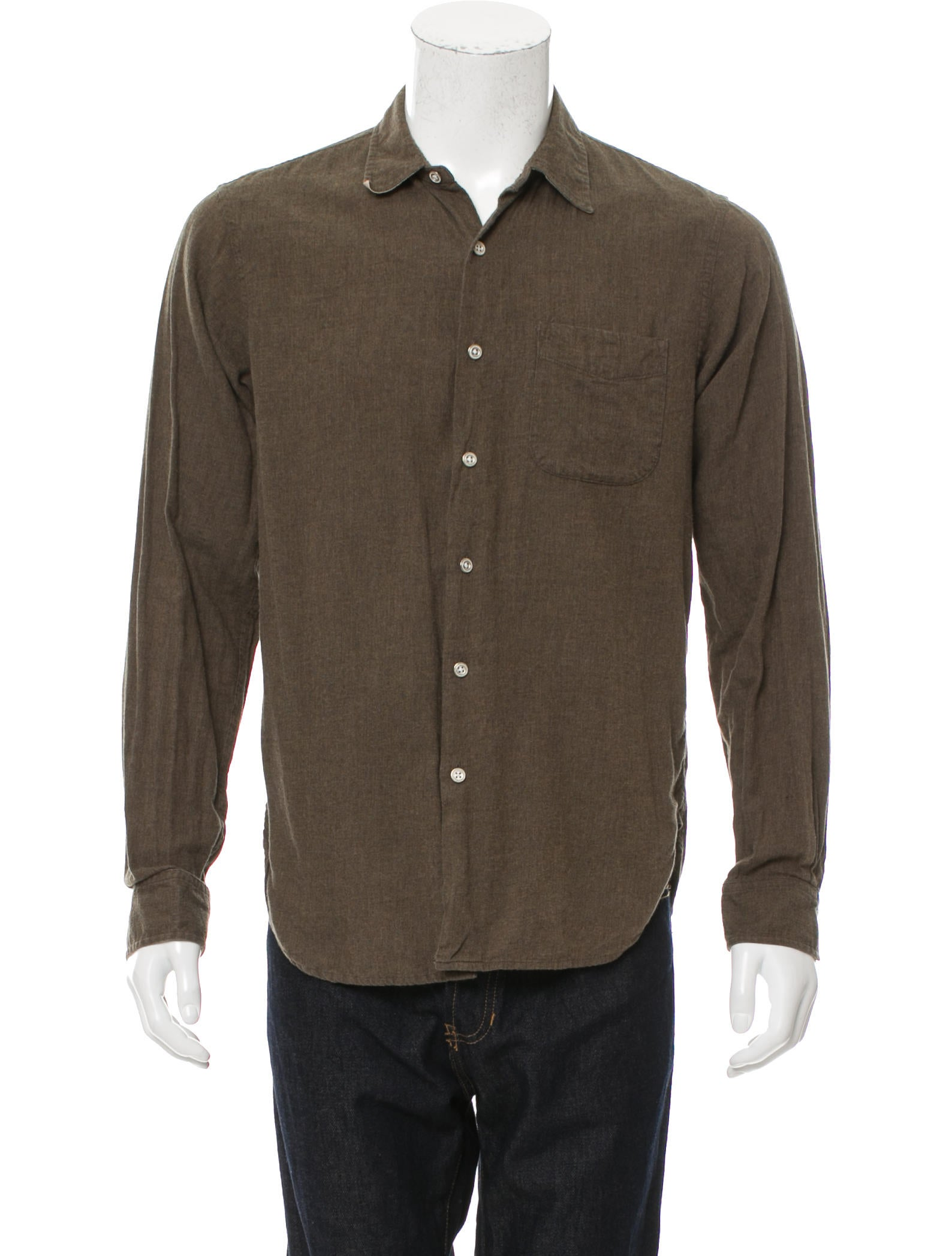 Rag Bone Woven Button Up Shirt Clothing Wragb69398