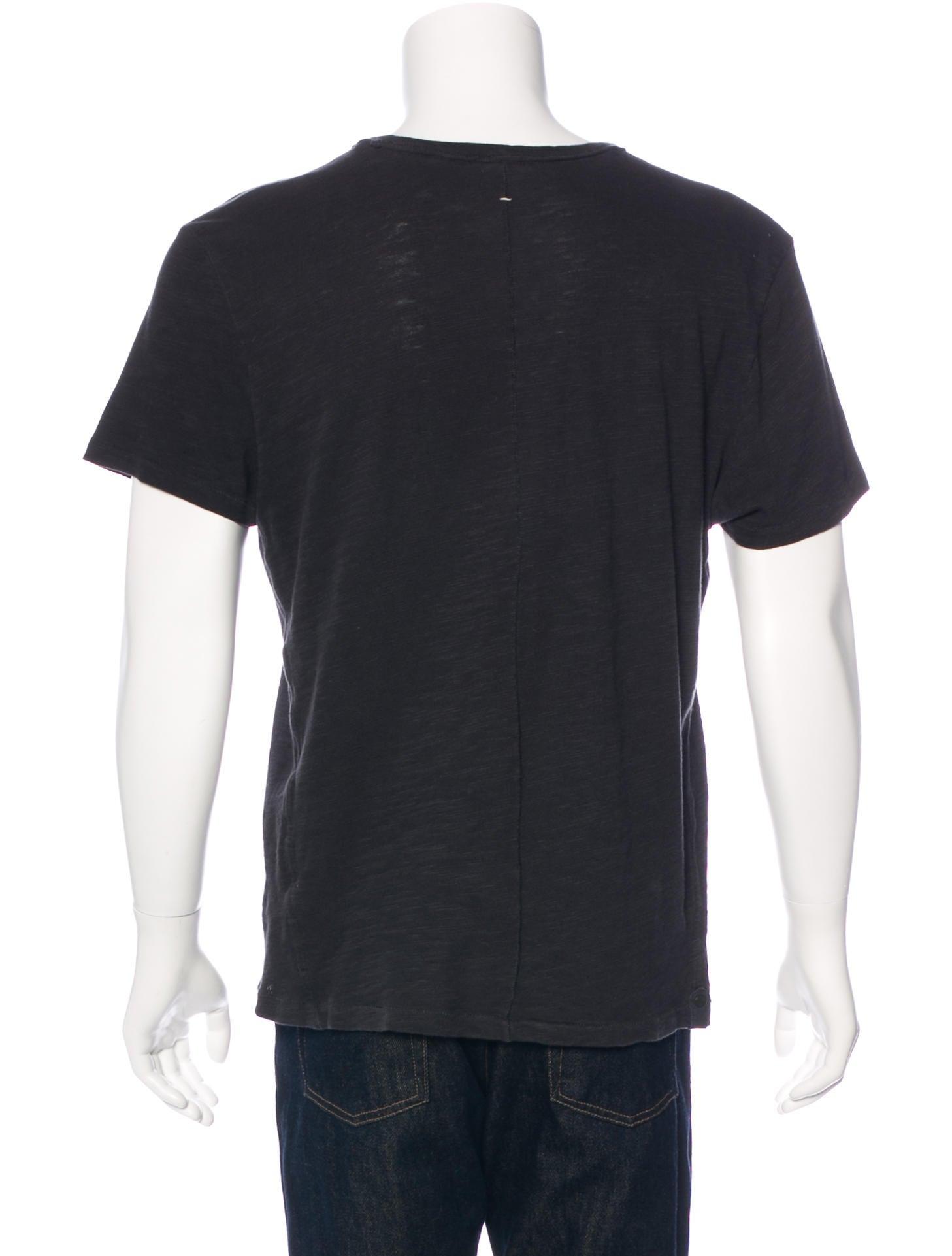 Rag Bone Crew Neck T Shirt Clothing Wragb69482 The