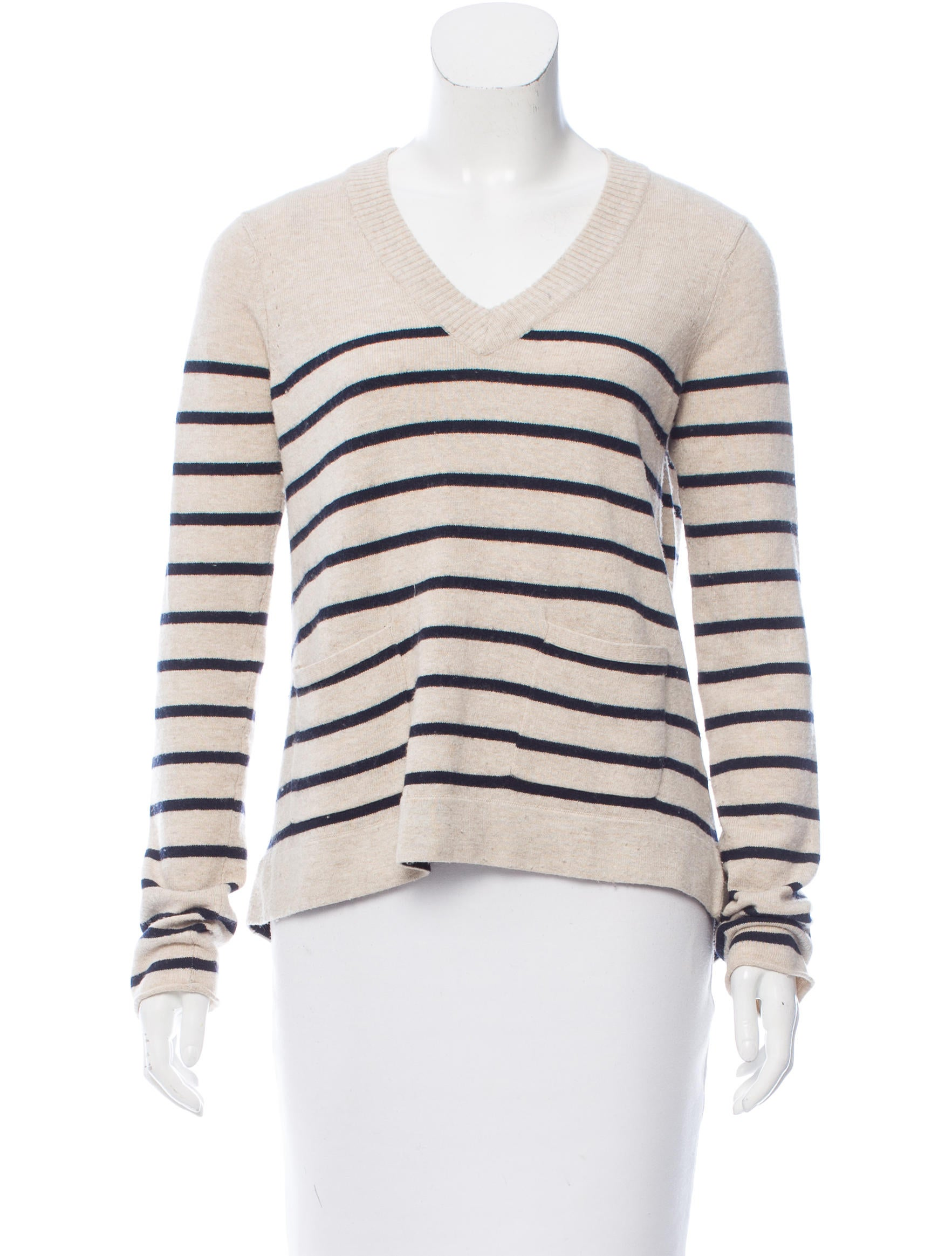 Knitting Pattern Striped Sweater : Rag & Bone Stripe Pattern Knit Sweater - Clothing ...