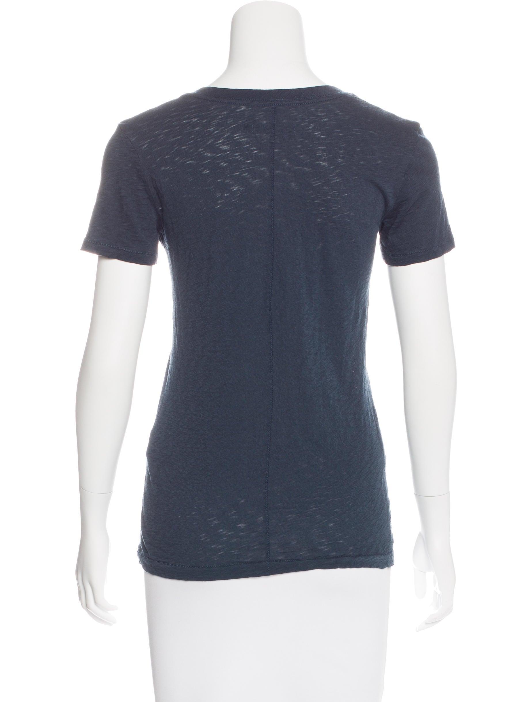 Rag bone v neck short sleeve t shirt clothing for Rag bone shirt