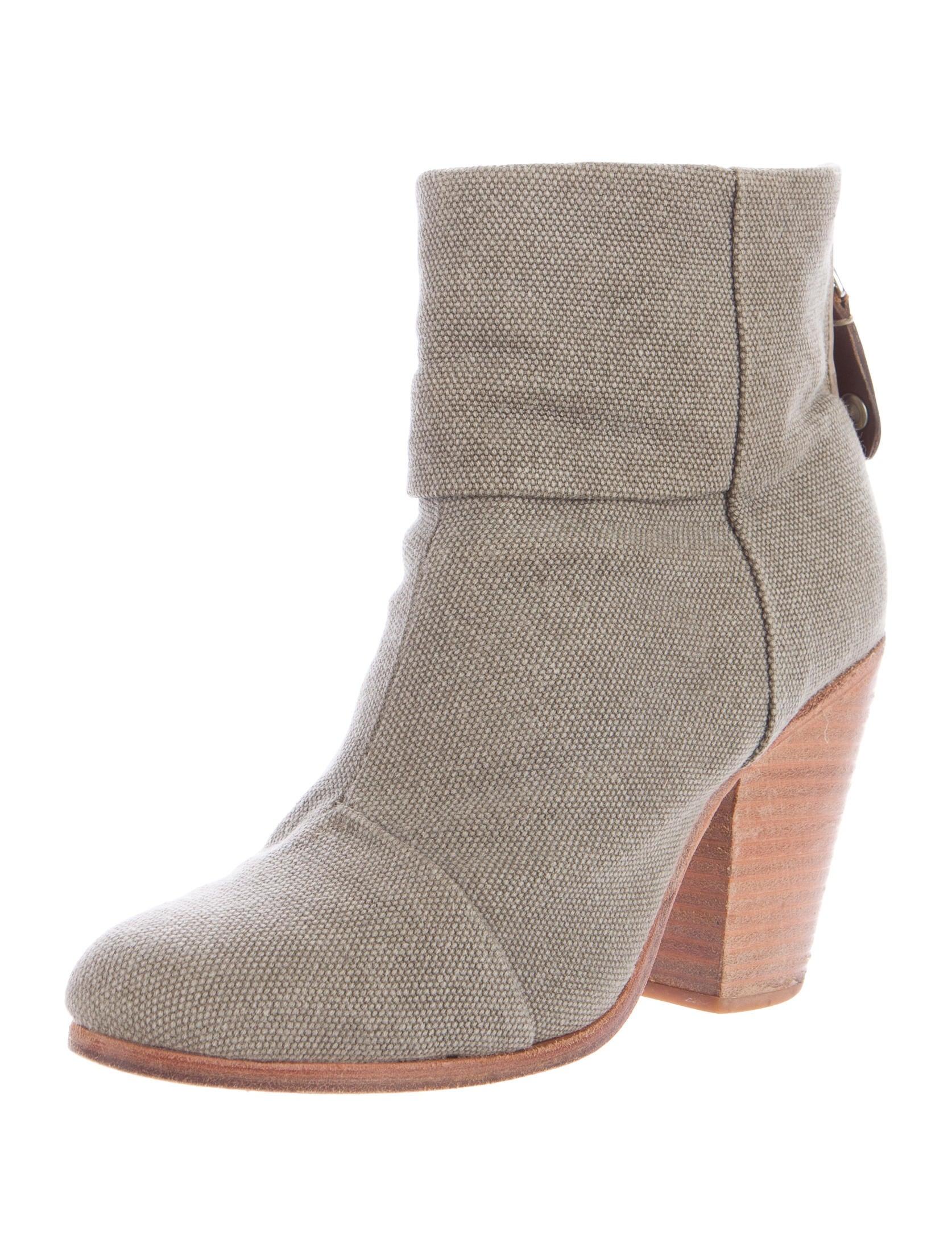 rag bone canvas newbury ankle boots shoes wragb70048
