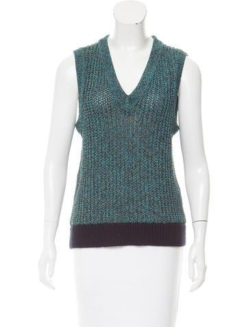 Rag & Bone Sleeveless V-neck Sweater None