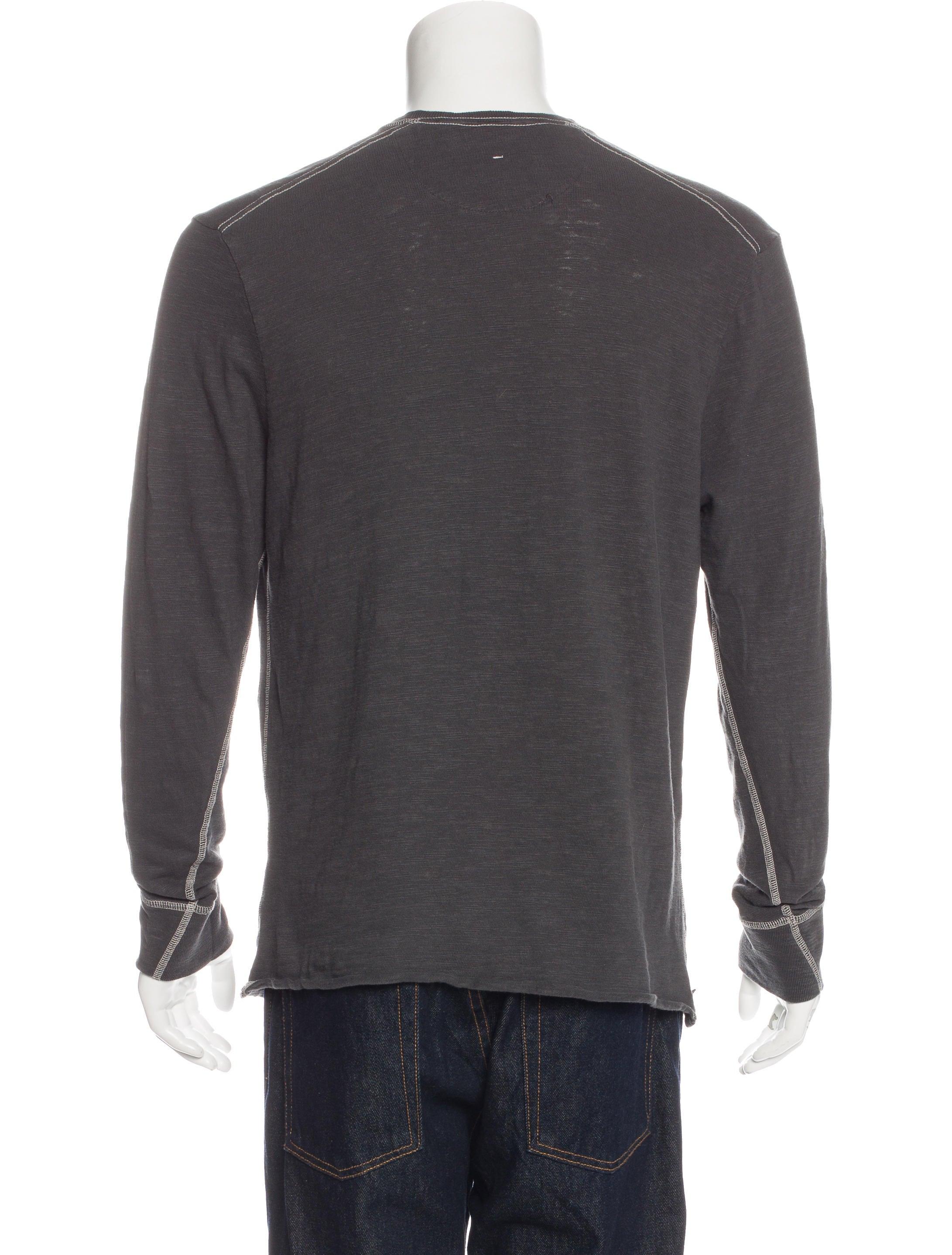 Rag bone crew neck long sleeve t shirt clothing for Rag bone shirt