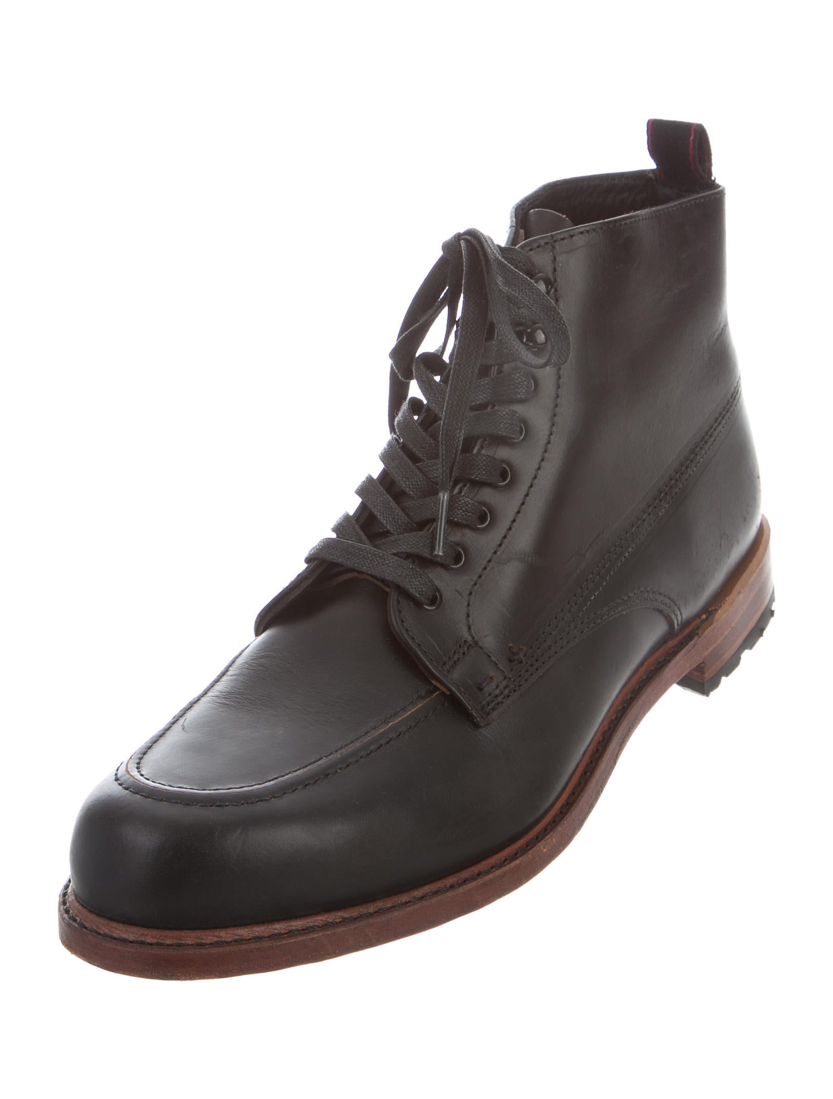 rag bone leather ankle boots shoes wragb70501 the
