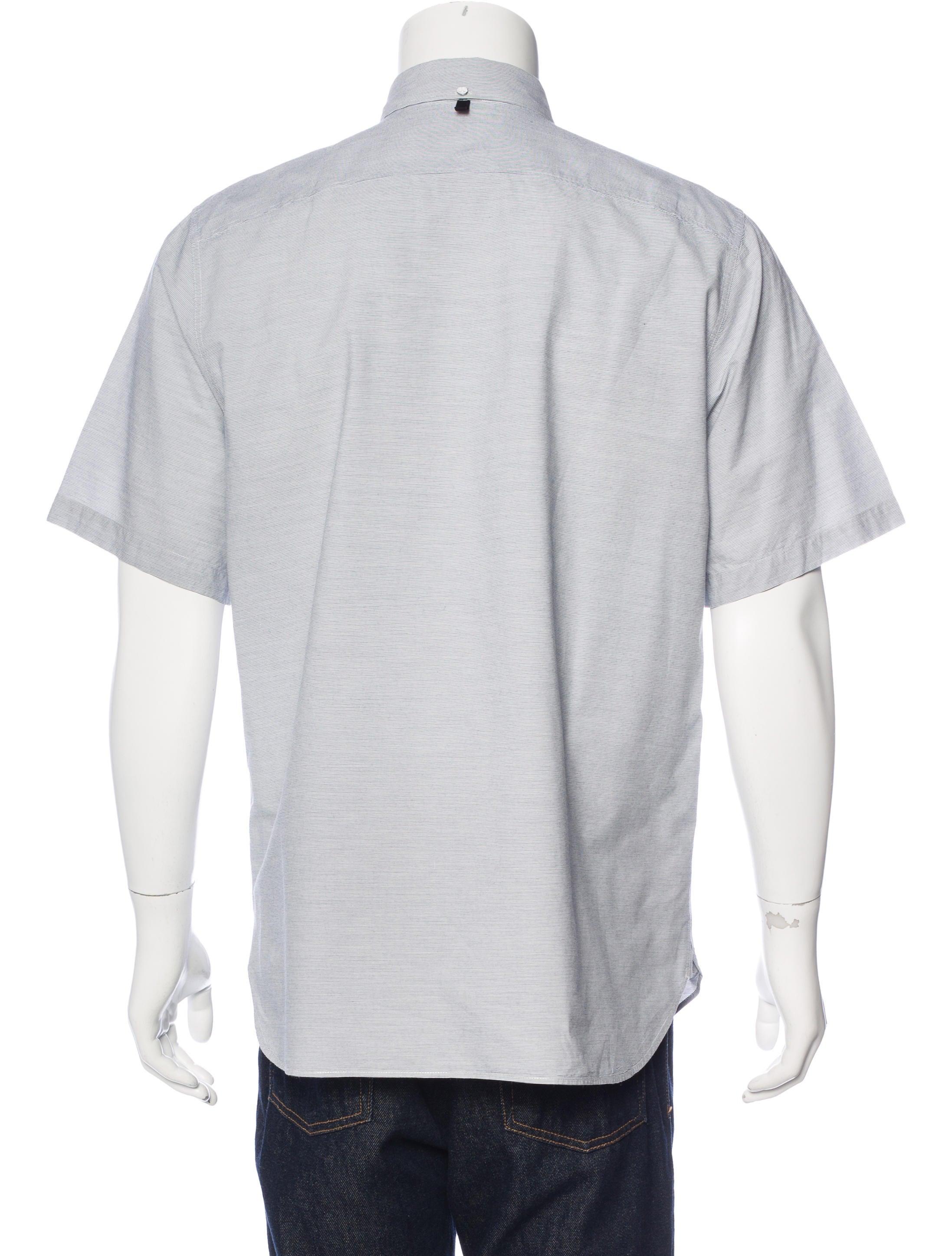 Rag bone striped button down shirt clothing for Rag and bone mens shirts sale