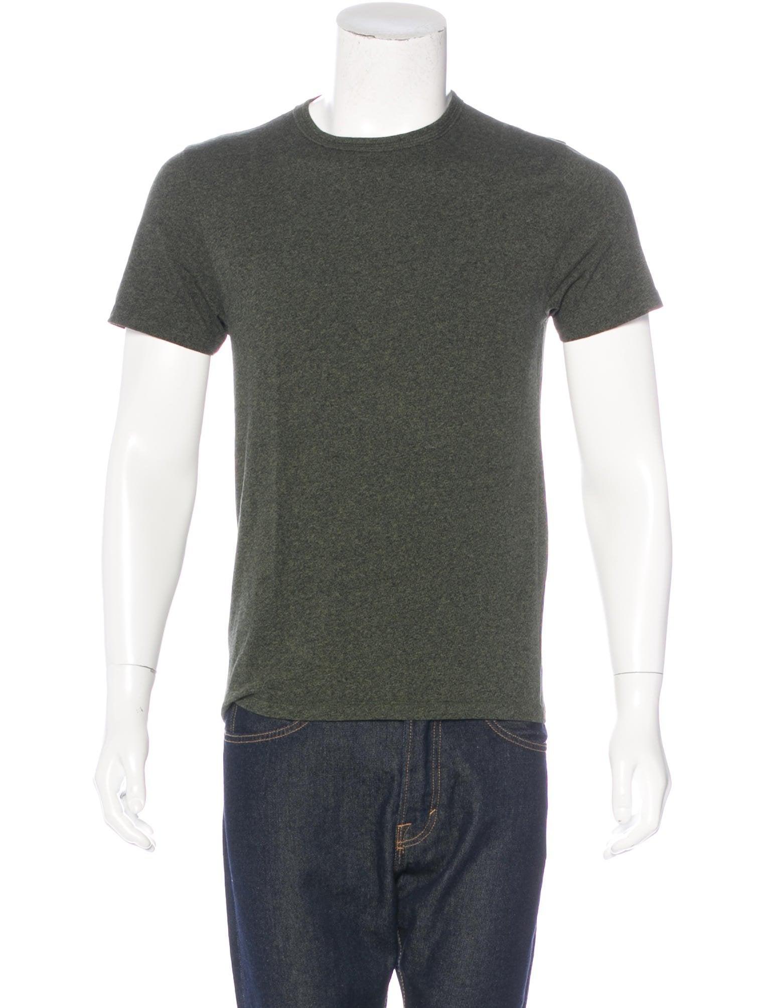 Rag Bone Crew Neck T Shirt Clothing Wragb71237 The