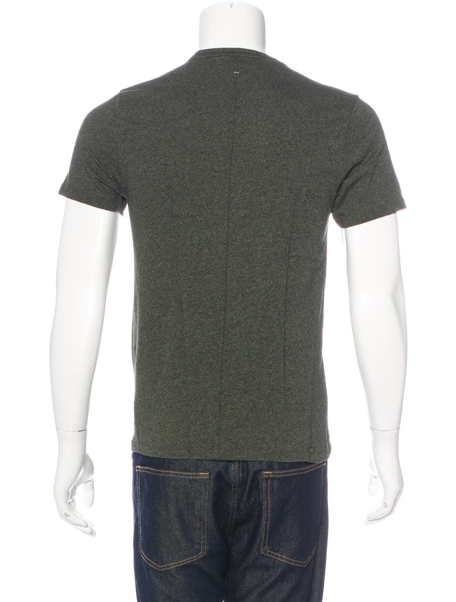 Rag bone crew neck t shirt clothing wragb71237 the for Rag and bone t shirts