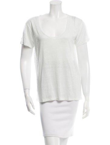 Rag & Bone Distressed T-Shirt None