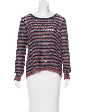 Rag & Bone Wool Striped pattern Sweater None