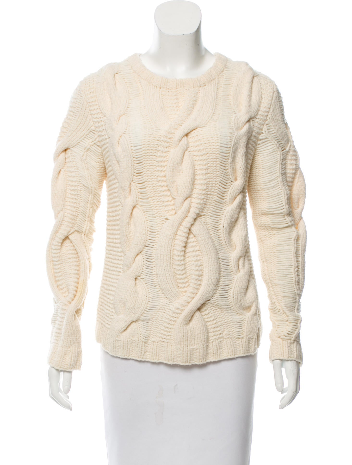 Wool Cable Sweater 89