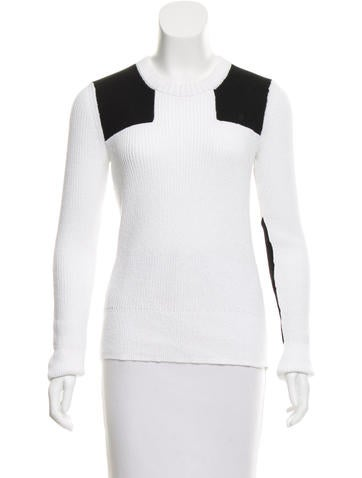 Rag & Bone Colorblock Long Sleeve Sweater None