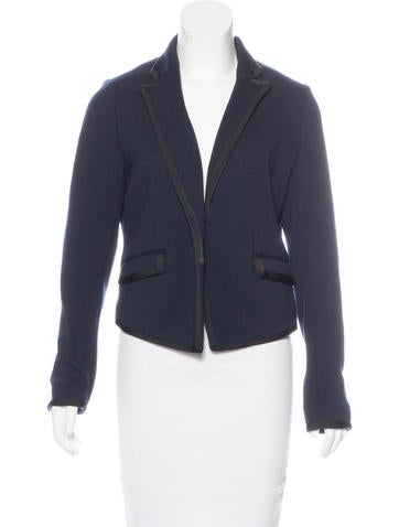Rag & Bone Wool Knit Blazer None