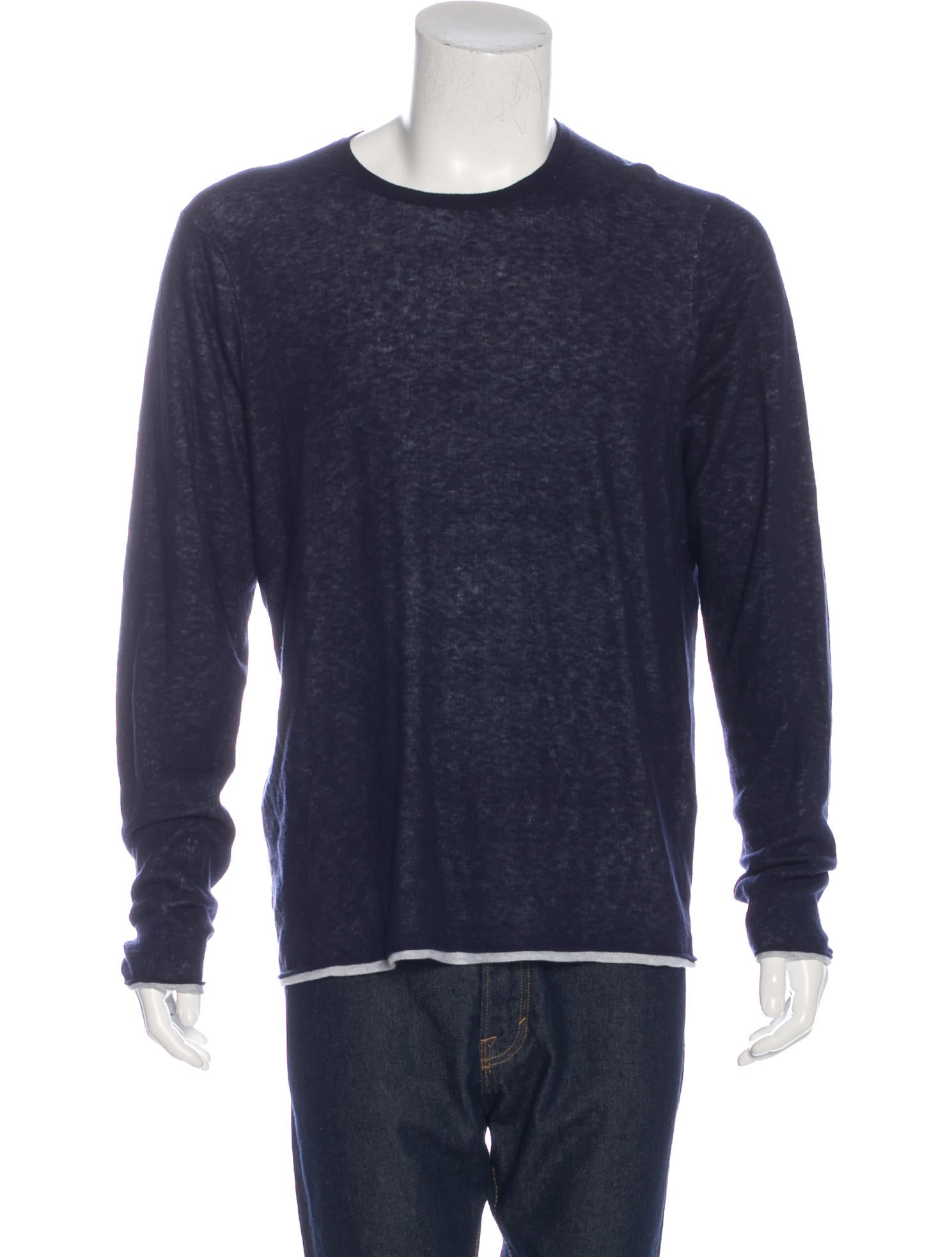 Rag bone crew neck sweater clothing wragb73689 the for Rag and bone mens shirts sale