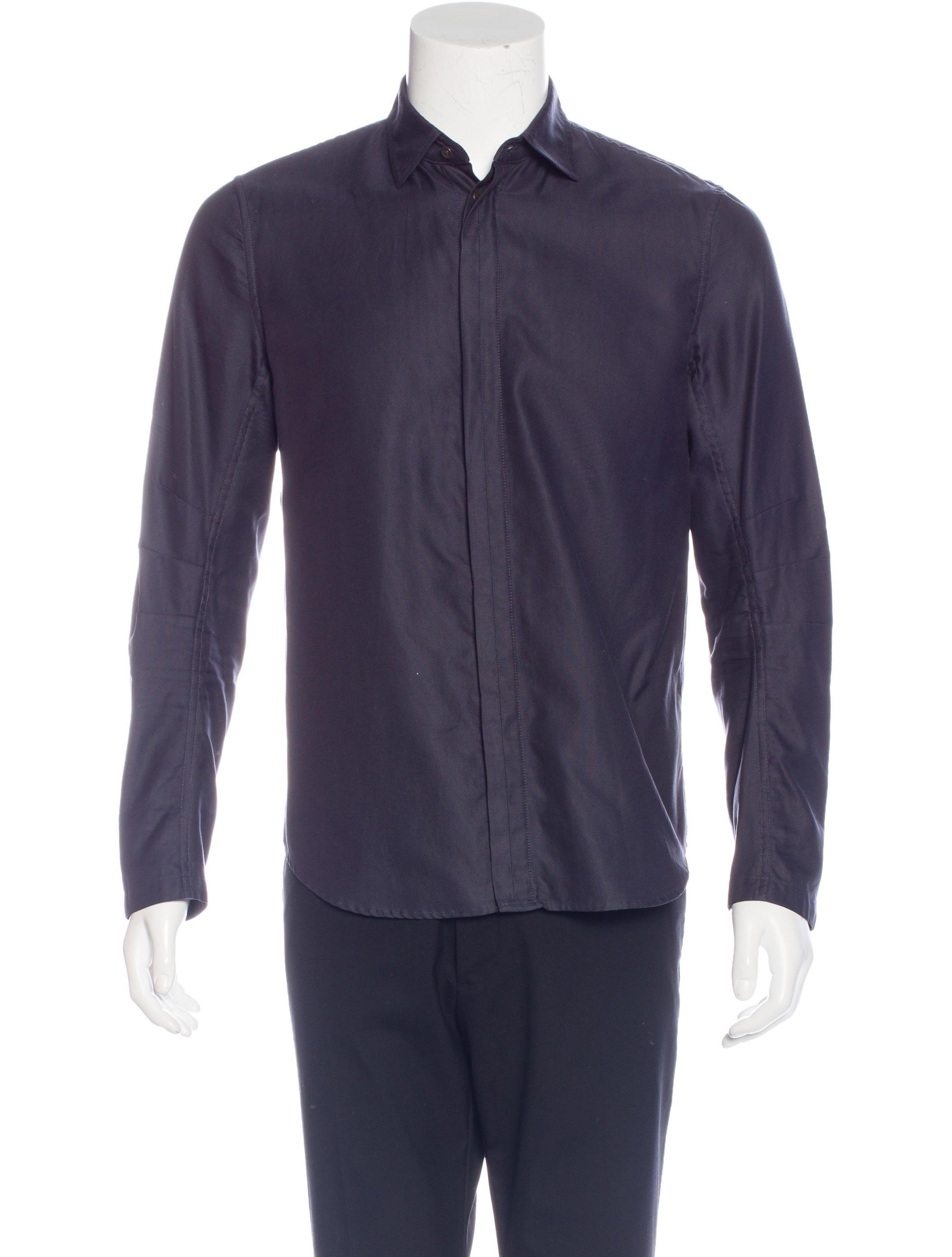 Rag Bone Woven Button Up Shirt Clothing Wragb73935