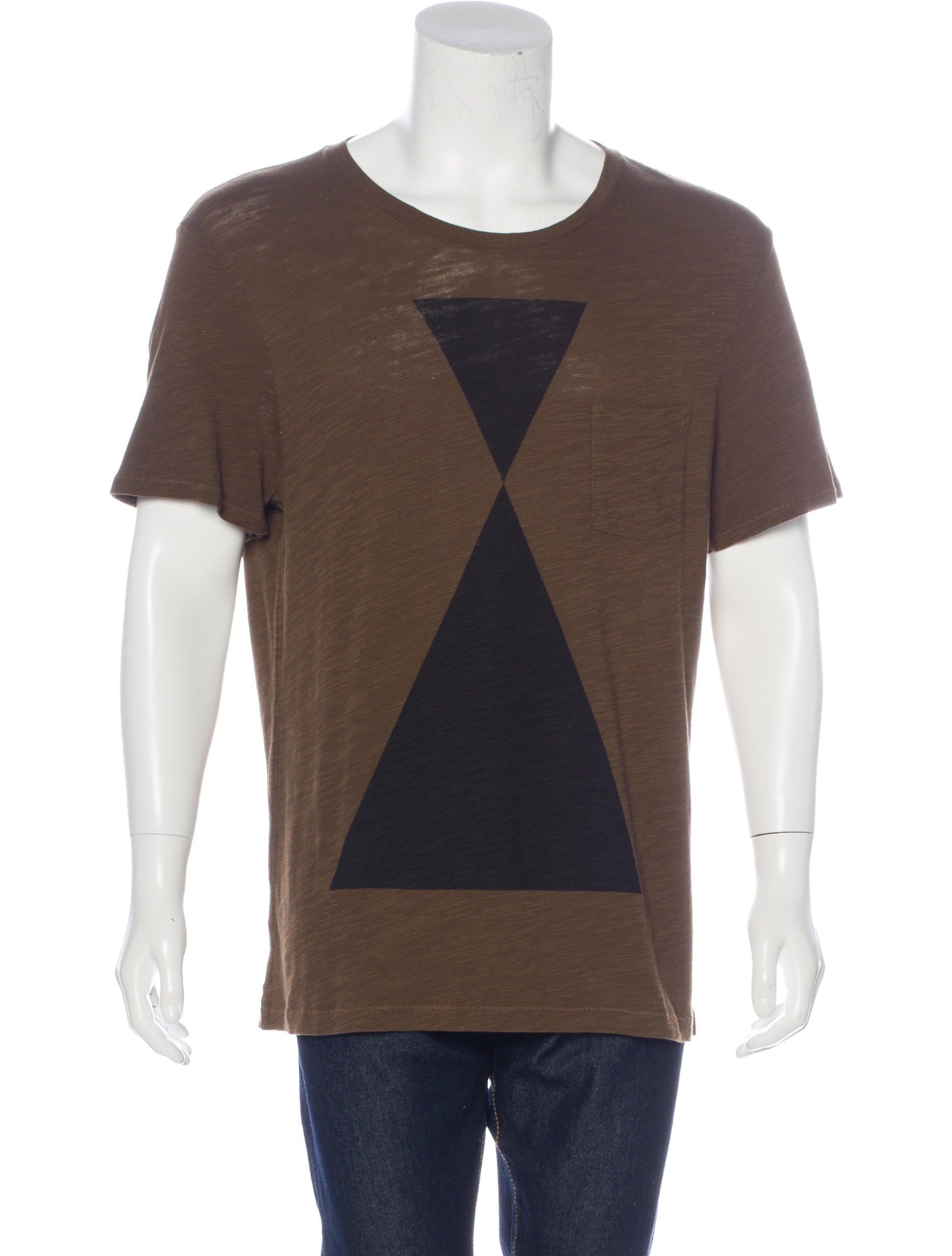 Rag Bone Geometric Print T Shirt W Tags Clothing