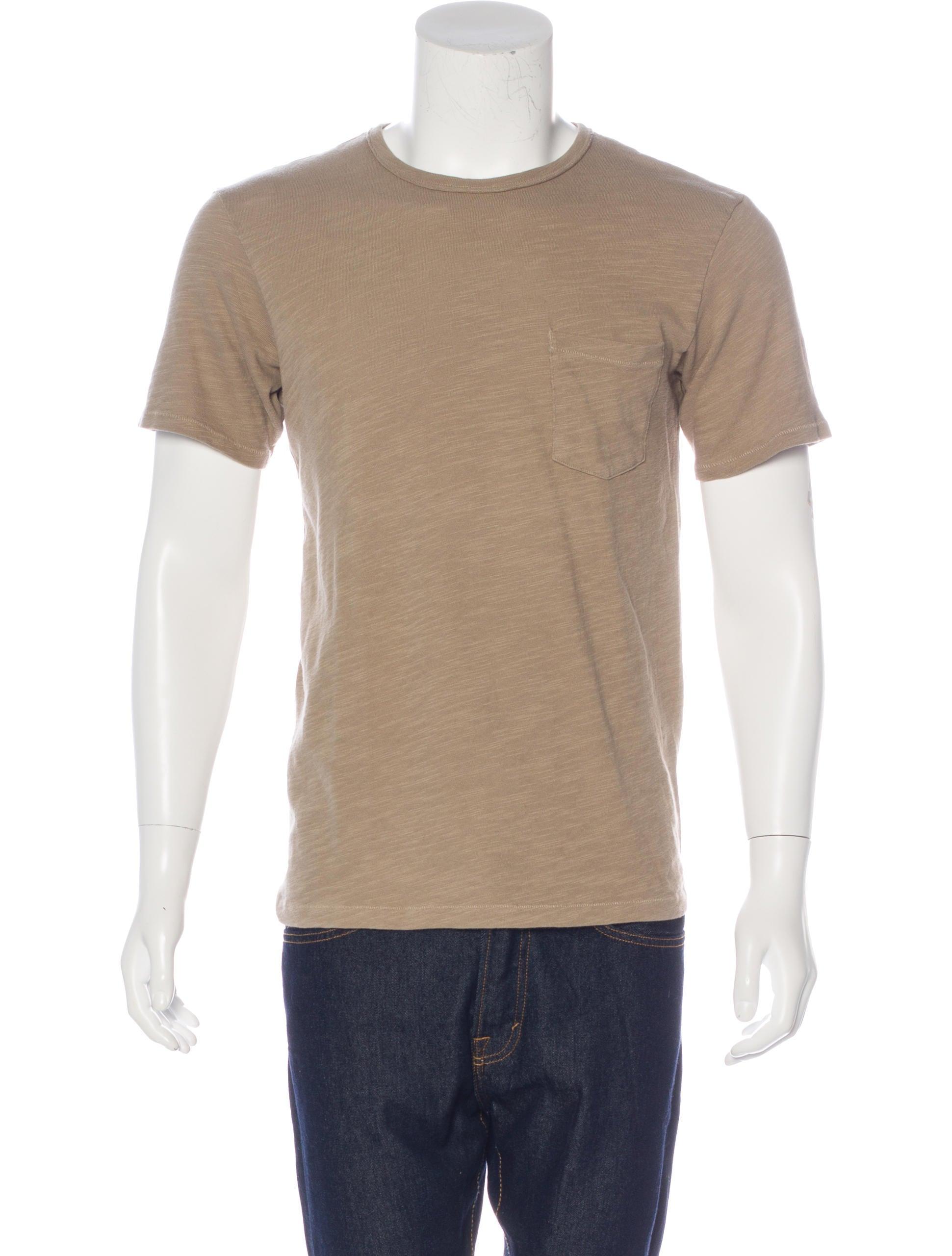 Rag Bone Crew Neck T Shirt Clothing Wragb74786 The