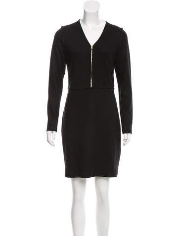 Rag & Bone Wool Mini Dress None