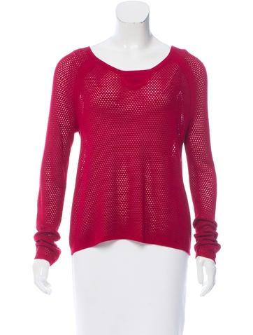 Rag & Bone Open Knit Long Sleeve Sweater w/ Tags None