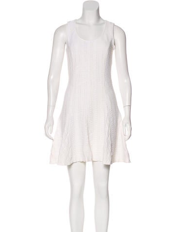 Rag & Bone Ribbed Mini Dress None