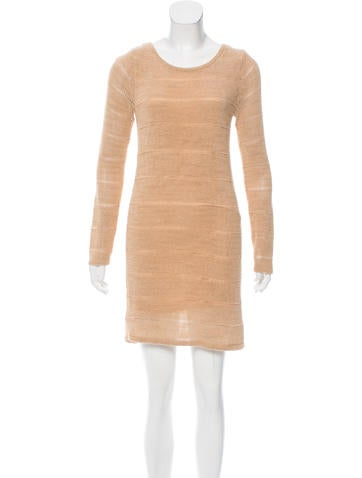 Rag & Bone Long Sleeve Knee-Length Dress None
