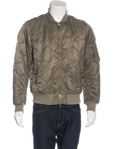 Rag & Bone Quilted Bomber Jacket None
