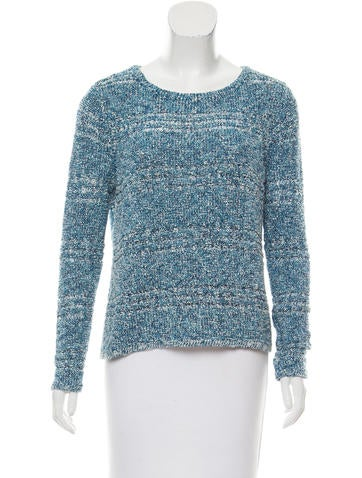 Rag & Bone Tweed Long Sleeve Top None