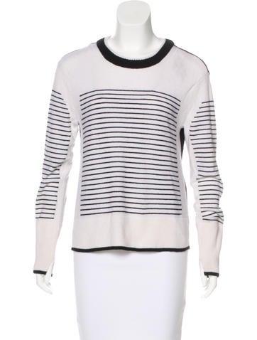 Rag & Bone Cashmere Striped Sweater None