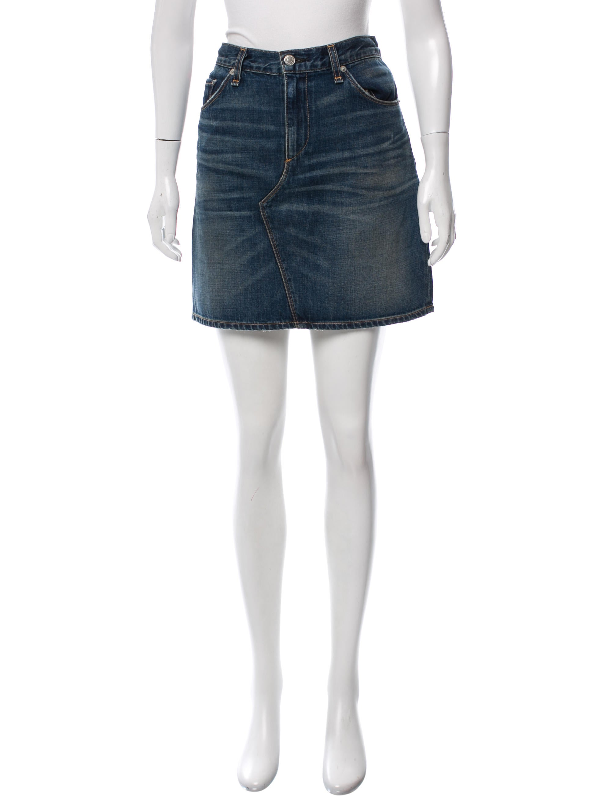 rag bone denim mini skirt clothing wragb77114 the