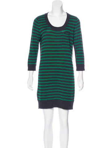 Rag & Bone Wool Striped Dress None