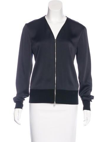 Rag & Bone Wool-Trimmed Long Sleeve Sweater None