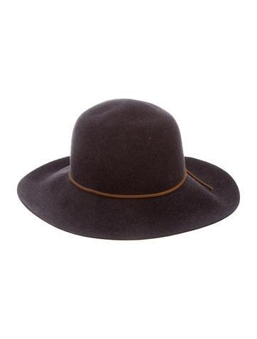 Rag & Bone Wide Brim Wool Hat w/ Tags None