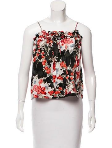 Rag & Bone Lizzie Sleeveless Floral Top w/ Tags None