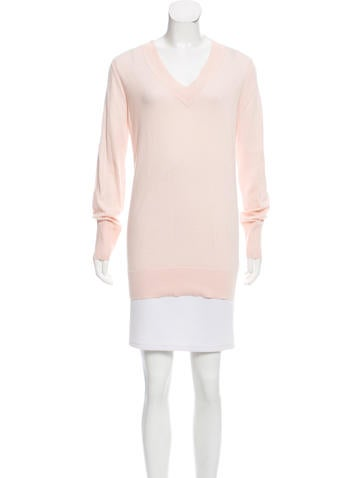 Rag & Bone Long Sleeve V-Neck Sweater None
